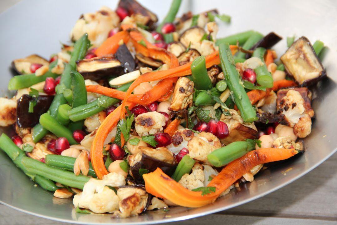 Middle Eastern Roast Vegetable Salad