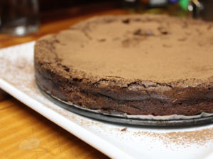 Ottolenghi's Chocolate Fudge Cake